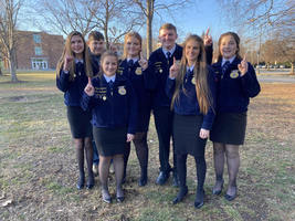 Felicity FFA Parliamentary Procedure State Champions