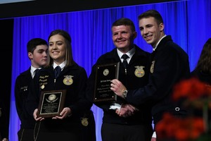 Felicity-Franklin FFA Excels at Ohio FFA Convention