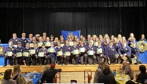 Felicity FFA Hosts 10th Annual Degree Night