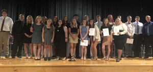 Felicity-Franklin NHS Inducts New Members