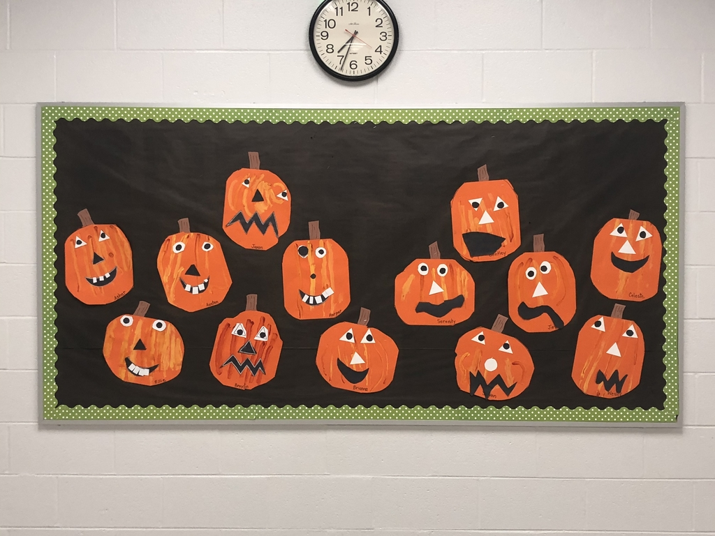 Kindergarten pumpkin patch!