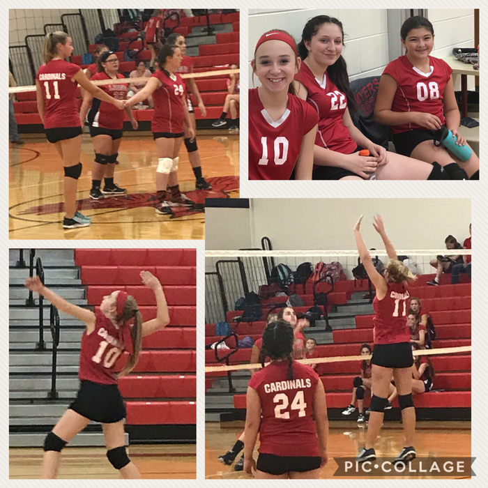 Eighth Grade Girl's Volleyball