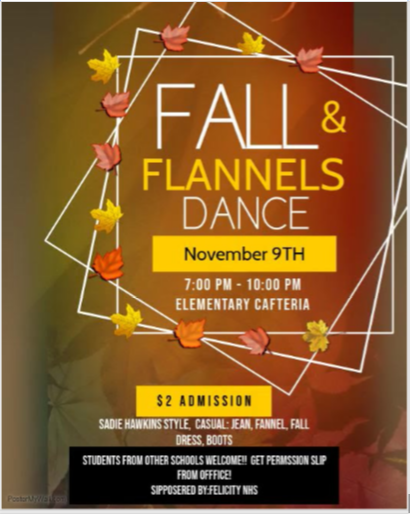 Fall and Flannels Flyer
