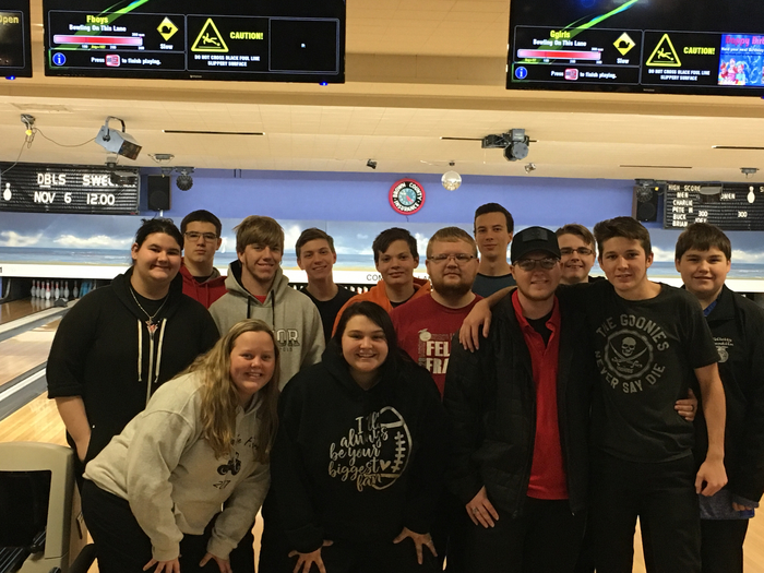 These students made history by representing Felicity in their very first BOWLING MATCH!
