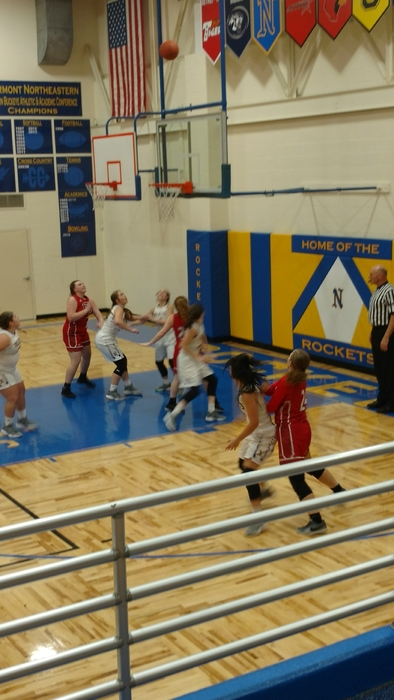 HS girls basketball at cne