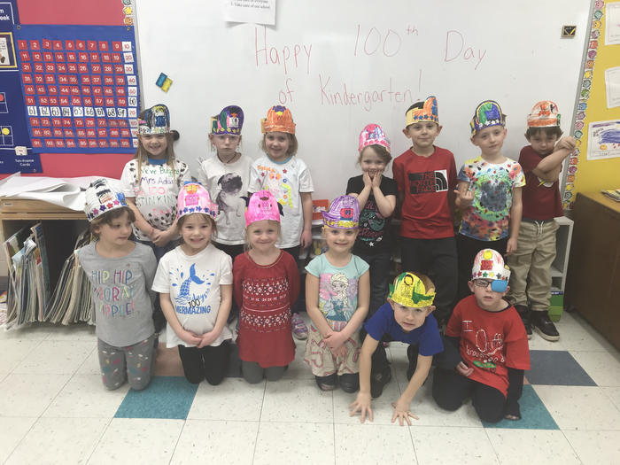 Happy 100th day of Kindergarten