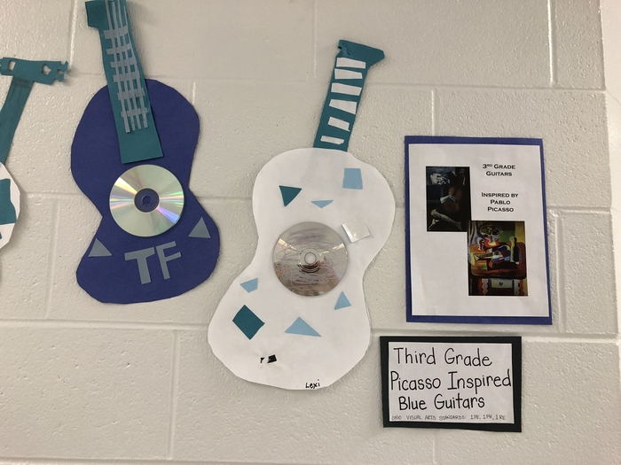 Third Grade Picasso Guitars