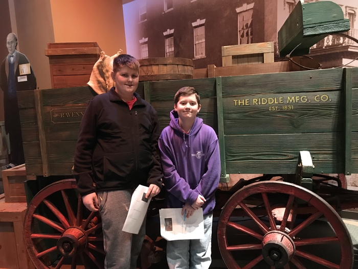 "Wagon that brought Henry ""Box"" Brown to freedom"
