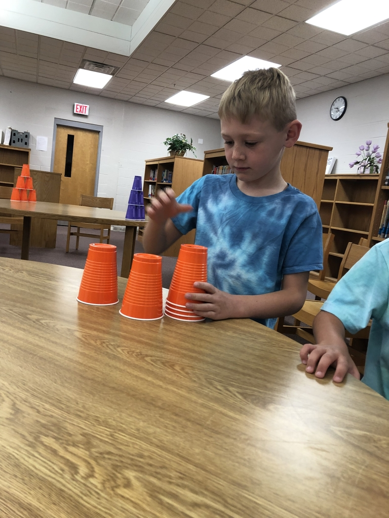 Cup Stacking Race!
