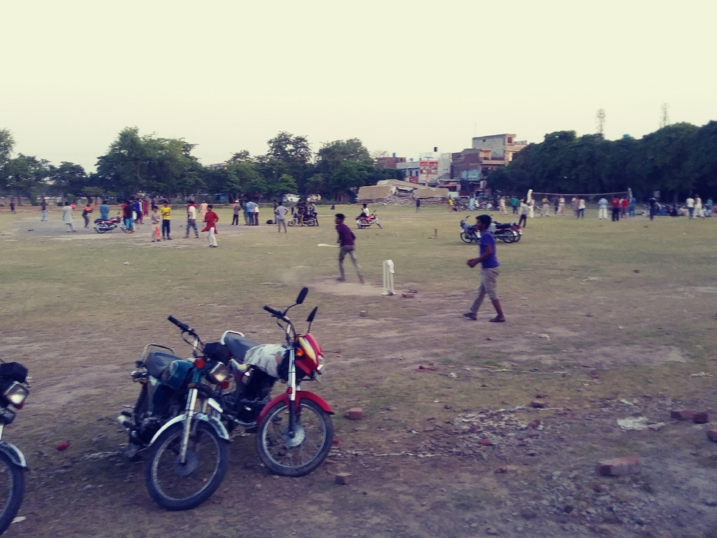 In the U.S. summer is for baseball, in Pakistan it is for playing Cricket.