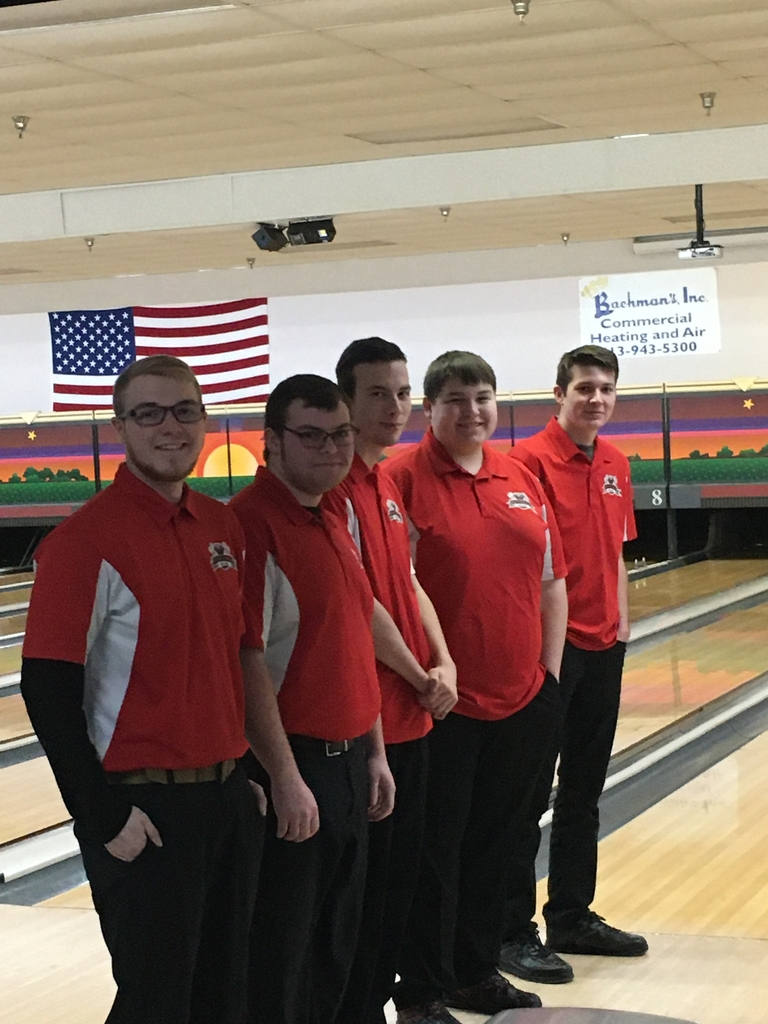 It's Sectional Bowling time! Go Cardinals!