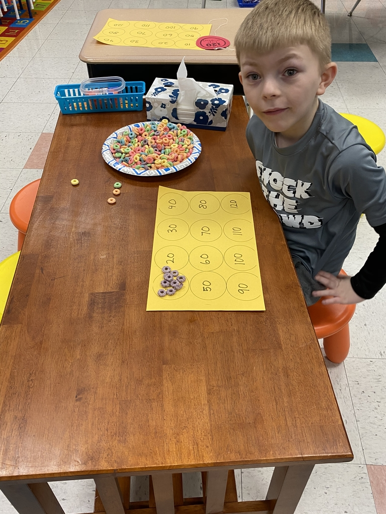 Making a 120 cereal necklace!