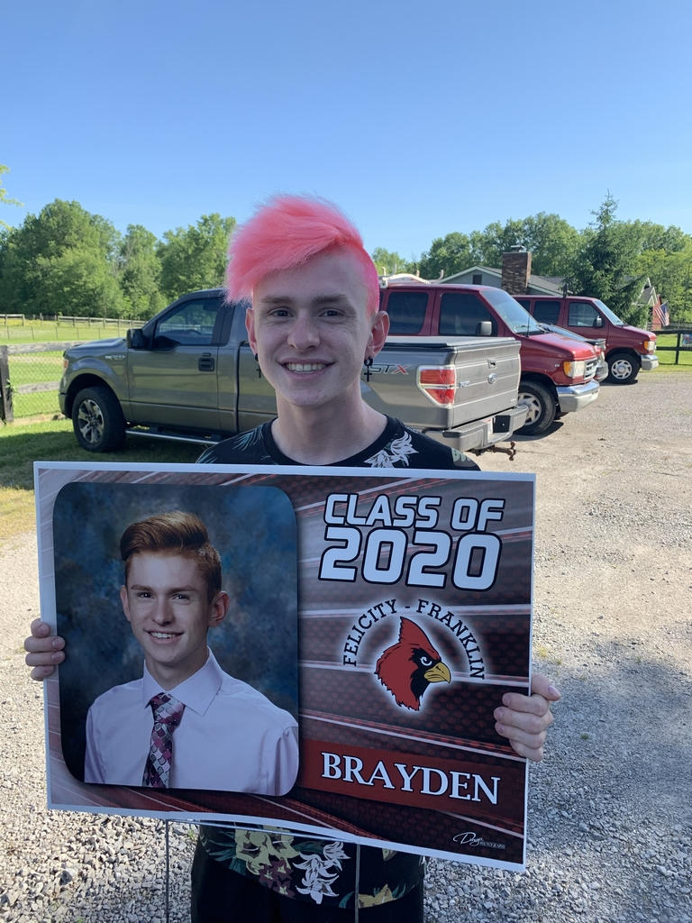 Congratulations to Brayden Sponcil! Best of luck with your future plans.